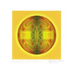 Floki Gauvry 1, Argentina, Mandala, 2014, Digital Print, 18 x 18 cm