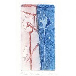 Giuseppina Lesa 2, Italy, You and I, 2010, Etching, 11,5 x 6 cm