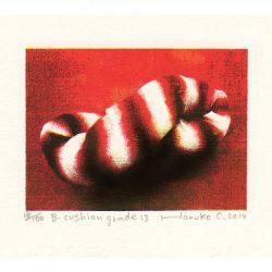 Haruko Cho 2, Japan, B-Cushion Grade 13, 2014, Screen Print,15 x 21 cm