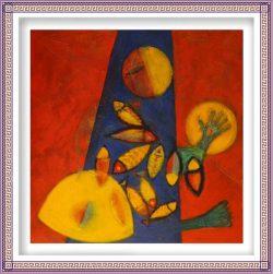 Iris Genevieve Lahens 3, Haïti, 2016, Shekinah, Mixed Media on Canvas, 80 x 80 cm