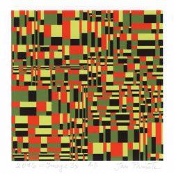 Jan Pamula 1, Polen, Image x3, 2016, Digital Print, 13 x 13 cm