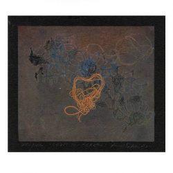 Jenti Hannele Salminen 2, Finland, Cross my Hearth, 2011, Monotype, 10 x 12 cm