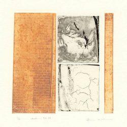 Kana Kobayashi 3, Japan, Work No, 36, 2016, Etching, 12 × 12 cm
