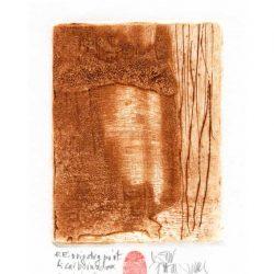 Leon Zakrajsek 2, Slovenia, Terra Dalmatica II, 2017, Dry Point & Carborundum Print, 12,7 x 10 cm