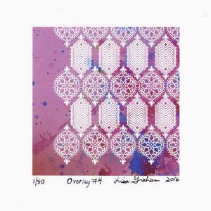 Lisa Graham 1, USA, Overlay #4, 2016, Digital, 13 x 13 cm