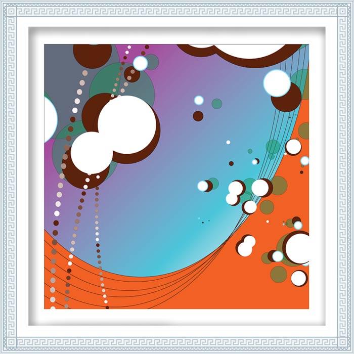 Lisa Graham 3, USA, Rondure #6, 2017, Digital Print, 40 x 40 cm