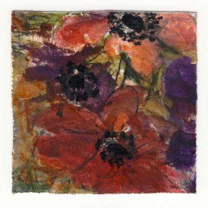 Lisbeth Cedwall 1, Sweden, Spirit, Acrylic, 13 x 13 cm