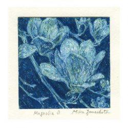 Mika Yamashita 3, Japan, Magnolia 3, 2016, Pastel Crayon, 10 x 10 cm