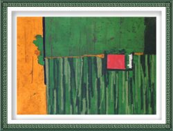 Mirjana Tomasevic 3, Serbia, Green Green Grass, 2015, Combined Printing, 50 x 70 cm