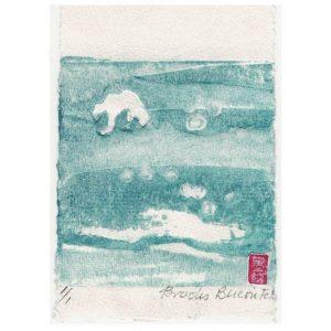 Myrna Brooks Bercovitch 3, Canada, Time & Space 1, Digital Print, 14,5 x 12,5 cm