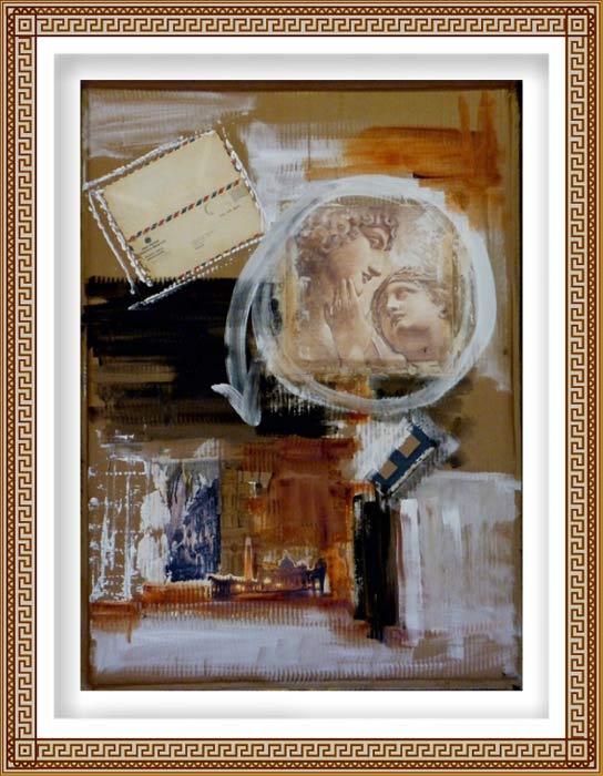 Patricia Pascazzi 3, Argentina, Postales, 2015, Técnica Mixta, 80 cm x 110 cm