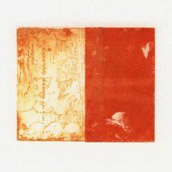 Solange Kowalewski 1, France, The Window, Intaglio, 2016, 10 x 12 cm