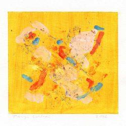 Tarja Unkari 1, Finland, Summertime 1, 2016, Acrylic on Paper, 12 x 13 cm