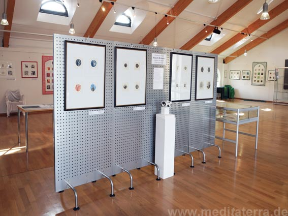 Solo exhibition of the japanese artist Atsushi Matsuoka in Nassau on the river Lahn, Germany