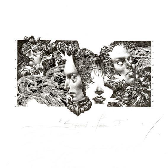 Petar Chinovsky 2, Bulgaria, Pandora, 2016, Algraphy (L4), 10 x 10 cm