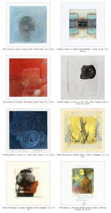 Kunstkartengruß mit Musik und Gedichten