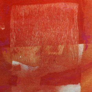 """Detail aus dem Bild """"Red Desert"""" der schwedischen Künstlerin Ana Lorenzen"""