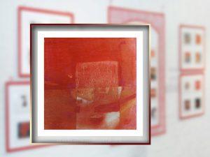 Klein ist groß: Ana Lorenzens Mischtechnik-Bild hat einen der Excellence-Jury-Preise der Internationalen Kunstinstallation 2017 gewonnen!