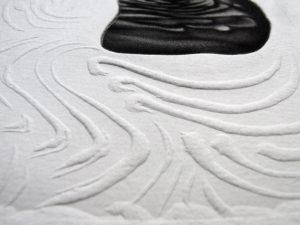 """Detail aus dem Bild """"FLAC, Nー XII / XXX"""" der französischen Künstlerin Armelle Magnier"""