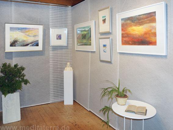"""Einzelausstellung von Pamela Ecker aus Österreich im """"Kunstretreat"""" bei Bonn"""