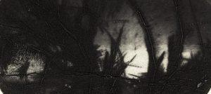 """Detail aus dem Bild """"Landscape of the Other Side"""" der estländischen Künstlerin Reti Saks"""