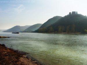Burg Rheineck in Bad Breisig am Rhein