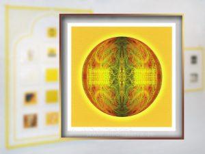 """Klein ist groß: Floki Gauvrys Digitaldruck hat eine """"Ehrenvolle Erwähnung"""" bei den Internationalen Kunstinstallationen 2017 gewonnen!"""