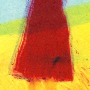 """Detail aus dem Bild """"Sonnenschirm"""" der amerikanischen Künstlerin Katharina Bossmann"""
