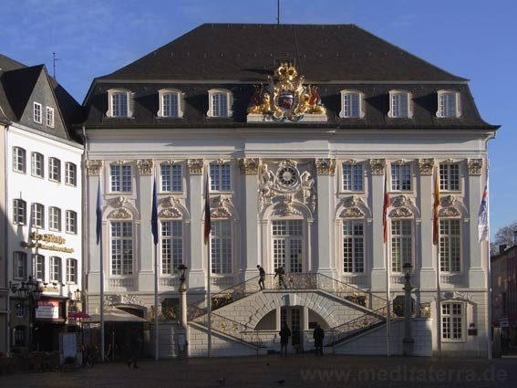 Turner-Motiv: Altes Rathaus in Bonn