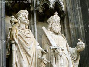 Skulpturen am Kölner Dom