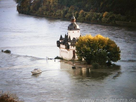 Die Pfalz bei Kaub (Turner Motiv)