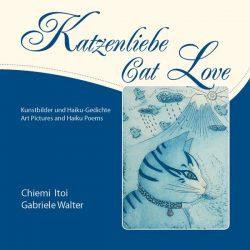 """Geschenkbuch """"Katzenliebe"""" mit Kunstbildern und Haiku-Lyrik"""