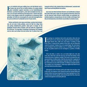"""Zweisprachiges Geschenkbuch """"Katzenliebe"""" - """"Cat Love"""" - Rückseite"""