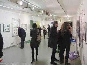"""Ausstellung """"Faszination weltweiter Kunst, Farbe und Meditation"""" in Köln 2017"""