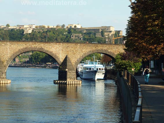 Moselbrücke in Koblenz