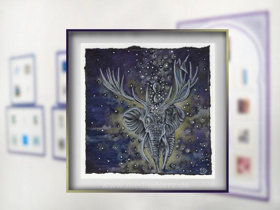 Klein ist groß: Ismari Caraballos Kunstwerk hat einen Ehrenvolle Erwähnung bei der Internationalen Kunstinstallation 2017 gewonnen!