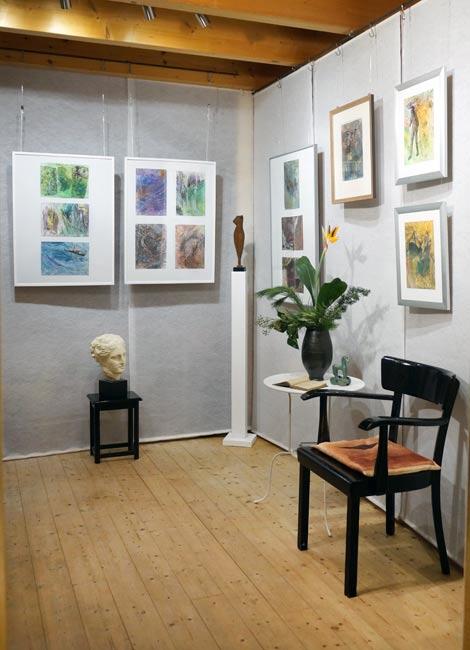 """Einzelausstellung """"Confusion"""" der Künstlerin Ruth Helena Fischer in der Studiogalerie"""