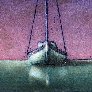 """Detail aus dem Bild """"Waiting for Wind"""" von dem schwedischen Künstler Bo Cronqvist"""