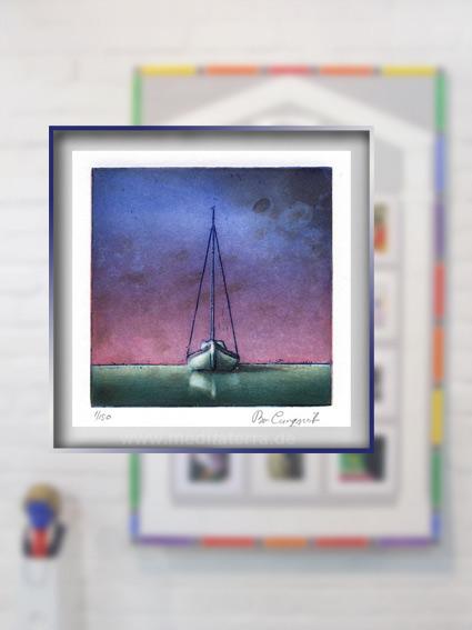 """Klein ist groß: Bo Cronqvists Kunstwerk hat einen zweiten """"Excellence-Preis"""" bei der internationalen Kunstinstallation 2017 in Köln, Nassau und Diez gewonnen!"""