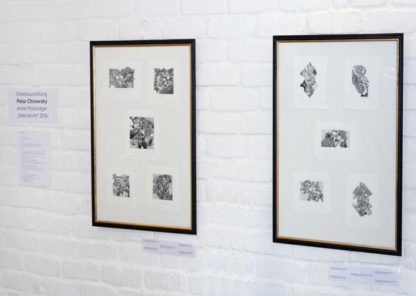Einzelausstellung des bulgarischen Künstlers Petar Chinovsky in Köln 2017