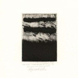 Agim Salihu 11, Kosovo, THE WINDOW, 2012, Aquatint Dry Point, 10 x 7 cm