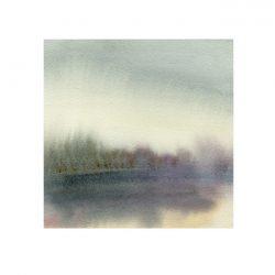 Amaryllis Siniossoglou 1, USA, Mist I, 2017, Watercolor, 13 x 13