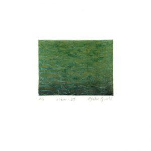 Ayako Iguchi, View 27, 2017, Etching, Aquatint, 5,9 x 7,9 cm