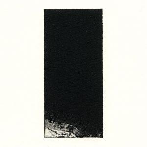 Kana Kobayashi 2, Japan, Work No.45, 2017, Etching, 14 × 6,5 cm