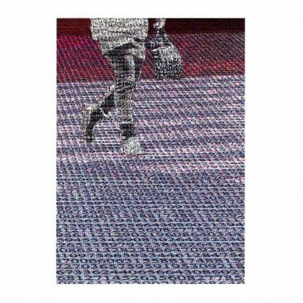 Kinichi Maki 1, Japan, Walking among the Seas of Number, 2017, Digital Print 14 x 9,9 cm