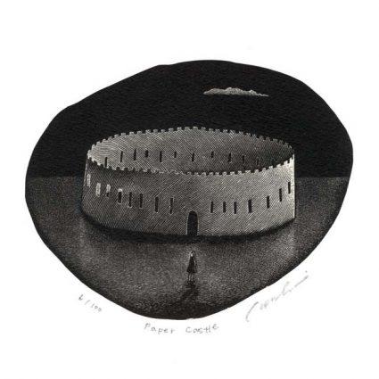 Kouki Tsuritani 1, Japan, Paper Castle, 2017, Wood Engraving, 11 x 14 cm