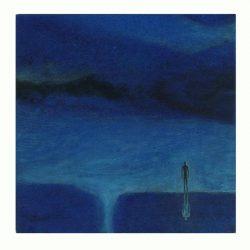 Lee. K. 3, France, Emptiness 3, 2018, Gouache on Paper, 14 x 14 cm