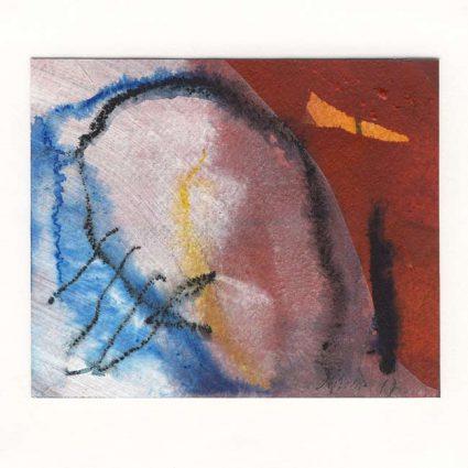 Michael Oberlik 1, Austria, Miniatur-17-1, 2017, Mixed Media, 13,8 x 11,5 cm