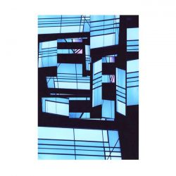 Paola Ceci 1, Italy, Grattacieli in Blu, 2013, Digital, 9 x 13 cm