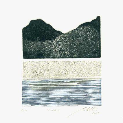 Paolo Pestelli 1, Italy, Izola 1, 2017, Etching, 10 x 11 cm